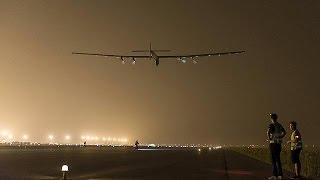 """طائرة """"سولار امبلس 2"""" تغادر الصين إلى هاواي   31-5-2015"""