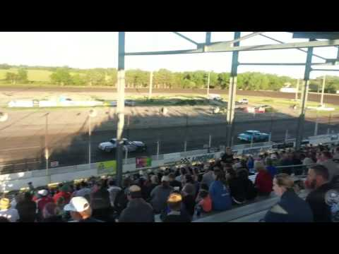 Lincoln County Raceway Feature Race IMCA hobby Stock