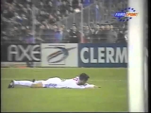 Clermont - PSG, Coupe de France 1996-97, résumé