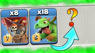 CREATING A NEW ARMY IN CLASH OF CLANS!!