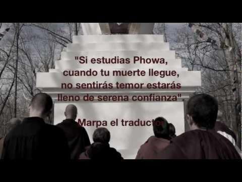 SE Ayang Rinpoche. Phowa. 30 de octubre al 7 noviembre 2011