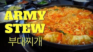 Budae Jjigae (부대찌개): Eating Korean Army Base Stew in Seoul, Korea