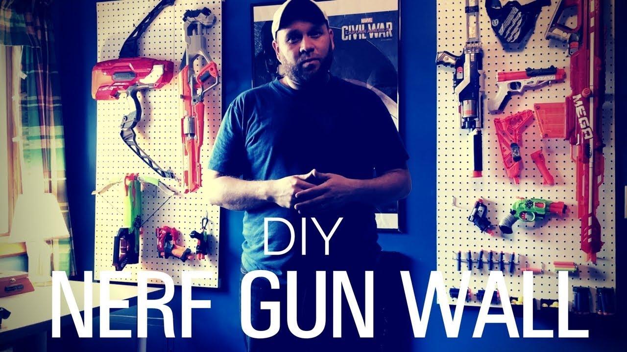 Diy Nerf Gun Wall