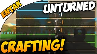 Unturned ➤ How To Craft In 3.0 [unturned 3.0 Update Crafting & Map Overview]