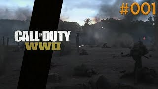 D-Day: Mission 1! (Call of Duty WWII Campaign #001)