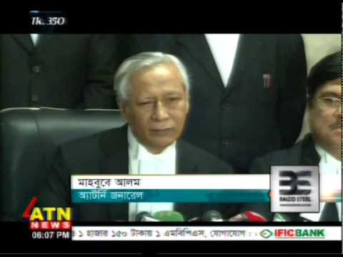 Bangladesh Attorney General Comment on HC Judgment on Uncontested Elected