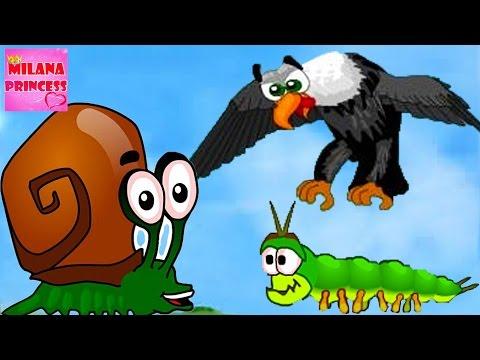 Детская игра про улитку Snail Bob 2 или Улитка Боб 2. Мультик игра для малышей! Часть #1