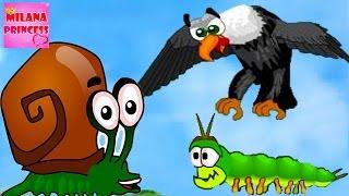 Дитяча гра про равлика Snail Bob 2 або Равлик Боб 2. Мультик гра для малюків! Частина #1