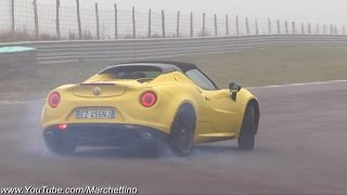 After having driven the Alfa Romeo 4C Spider for a while on both tr...