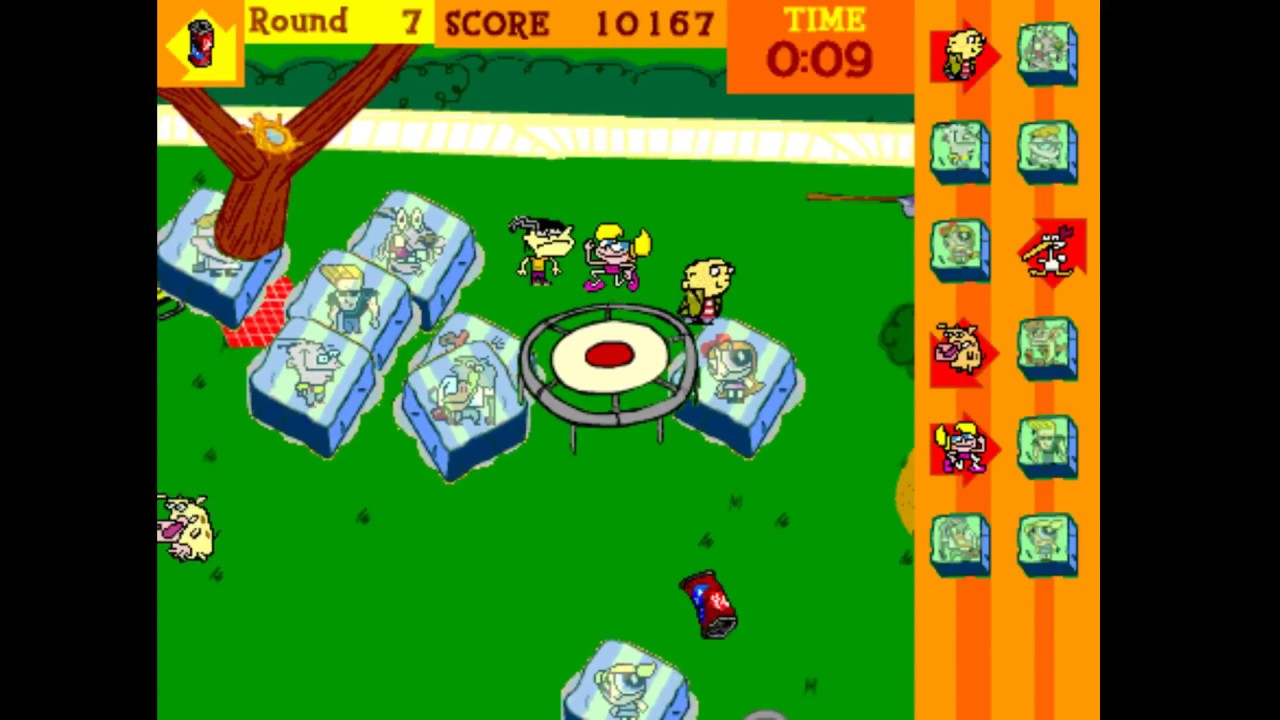 Cartoon Network Kick The Can 2001 Pc Game Youtube