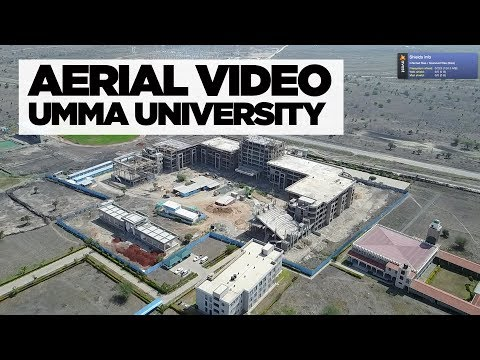 Aerial Photo + Video: Umma University Construction (2018)