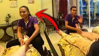 Таиланд Перезагрузка #14. Угораем с тайцами учим их РУССКИМ скороговоркам) Тайский массаж в Паттайе