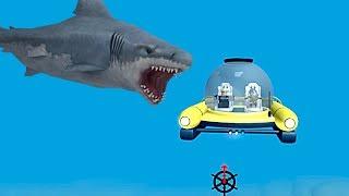 NEW SUBMARINE AGAINST SHARKS l ROBLOX (SHARK BITE)