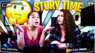 MUKBANG STORY TIME W/ DREW LAUREN! EXPOSING CRAZY THINGS I DID IN HIGH SCHOOL 😂