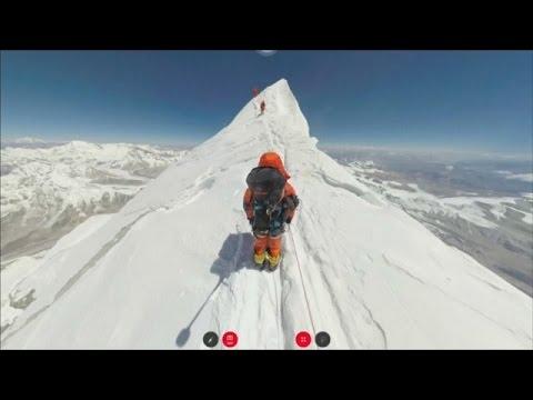 Взобраться на Эверест теперь можно не выходя из дома (новости)