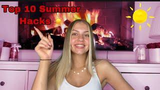 Meine Top 10 Sommer Life Hacks ☀️ | Jolineelisa