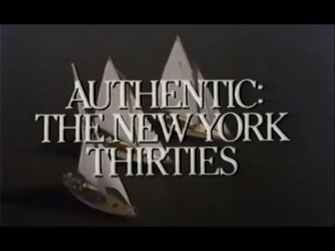 New York Thirties