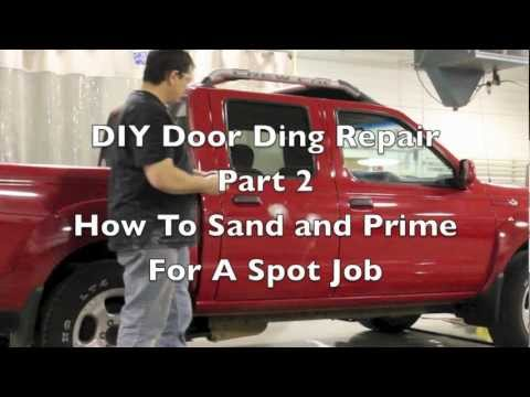 DIY Sand and Prime - How To Prep and Prime a Spot Touch Up Job on a Car