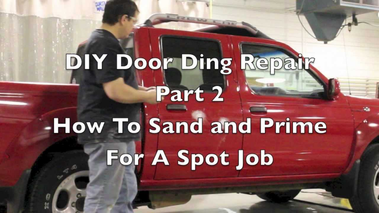 Diy sand and prime how to prep and prime a spot touch up job on diy sand and prime how to prep and prime a spot touch up job on a car youtube solutioingenieria Images