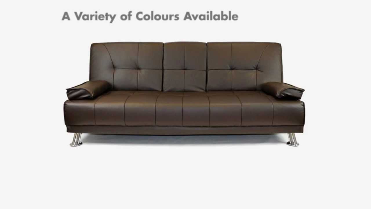 Gentil Click Clack Sofa Beds   Cheap Sofa Beds, Sofa Beds UK, Leather Sofa Beds,  Clic Clac Sofa Beds   YouTube