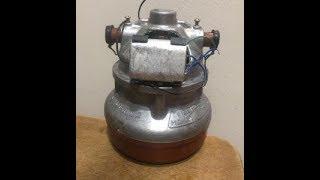 Разбор и сбор двигателя МД010 пылесоса