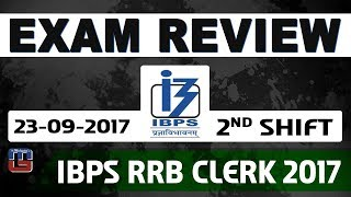 Video Exam Review With Cut Off | IBPS RRB CLERK 2017 | 23 September-2nd Shift download MP3, 3GP, MP4, WEBM, AVI, FLV September 2017