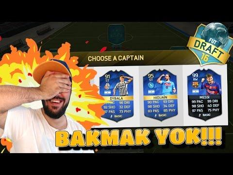 BAKMAK YOK!! - FIFA 16 FUT DRAFT