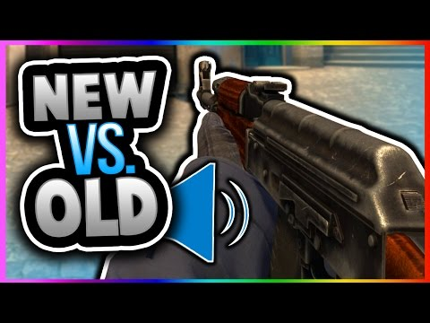 CSGO - SOUND UPDATE! BEFORE AND AFTER SOUNDS AK47 M4A4 M4A1-S GALIL FAMAS (CS GO New Sound Gameplay)