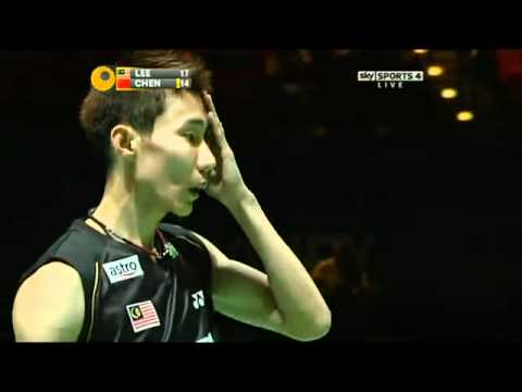 Cầu lông All England Open MS SF Lee Chong Wei   Chen Long