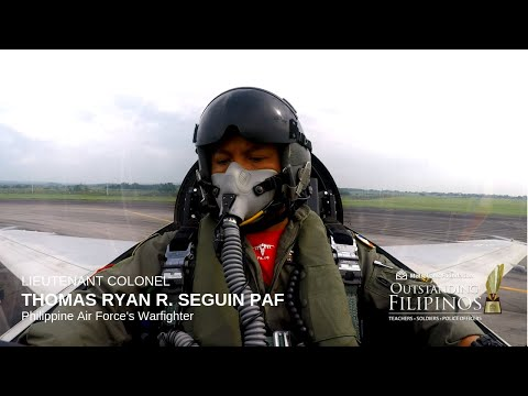 Philippine Air Force's Freedom Warfighter LIEUTENANT COLONEL THOMAS RYAN R. SEGUIN PAF