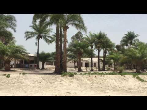 Bubaque Island Hotel y la playa de Bruce ( Praia de Bruce) Bijagos Islands
