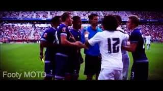Real Madrid vs Tottenham Hotspur - Spat btw Sergio Ramos & Harry Kane 04/08/2015 HD