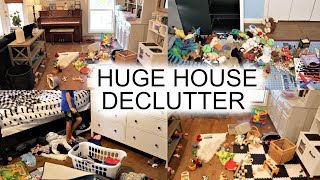 HUGE HOUSE DECLUTTER & ORGANIZATION! DECLUTTER WITH ME!