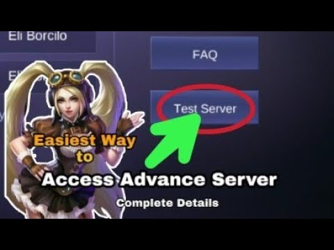 How To Enter Advance Server In Mobile Legends | Easiest Way To Enter Advance/Test Server