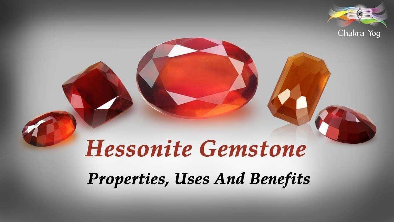 Gomed: Properties of Hessonite and Gomed Gemstone - Rudraksha Ratna