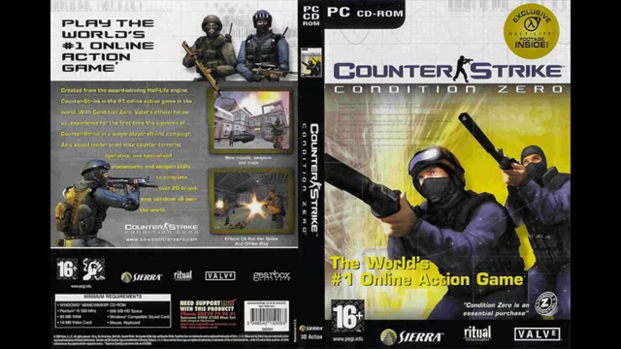 free download game pc counter strike condition zero