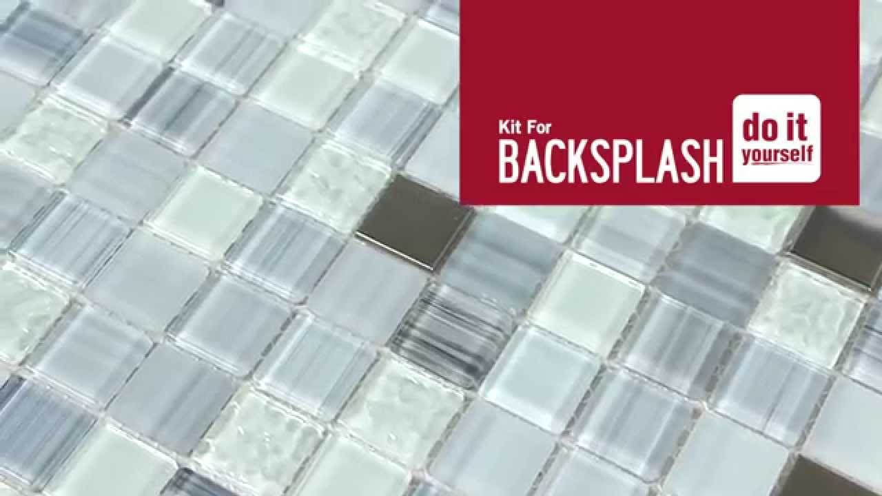 DIY Backsplash Kit Blue Moon Unpacking YouTube