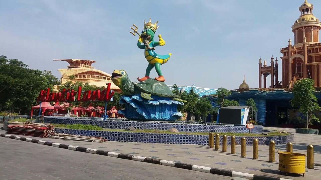 Atlantis land terbaru di Kenpark surabaya  Pantai kenjeran