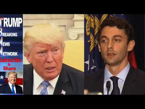 MOMENTS After Ossof Lost In Georgia, Trump Said The One Thing That'll Ruin The Democratic Party
