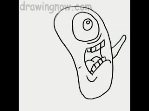 how to draw spongebob squarepants and patrick