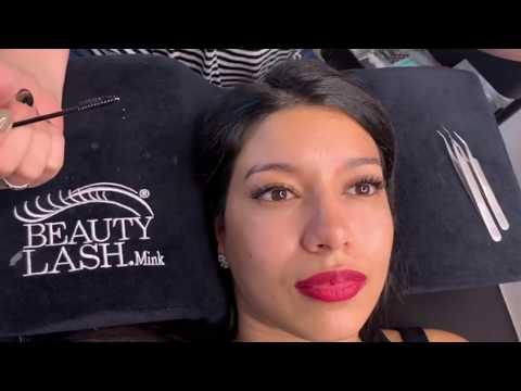 Наращивание ресниц Natural Volume Lashes #beautylash Рваный ресничный край
