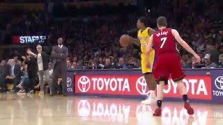 Marcelo Huertas Comes Up With a Sneaky Steal