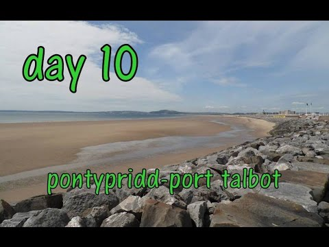 bicycle touring east to west: day10 pontypridd to port talbot