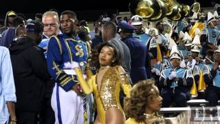 "Southern University Dancing Dolls ""Throw Some Mo"" vs ASU Stingettes ""Better Believe It"" 2015"