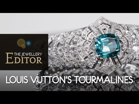 Tourmalines: a lesson in colour with Louis Vuitton