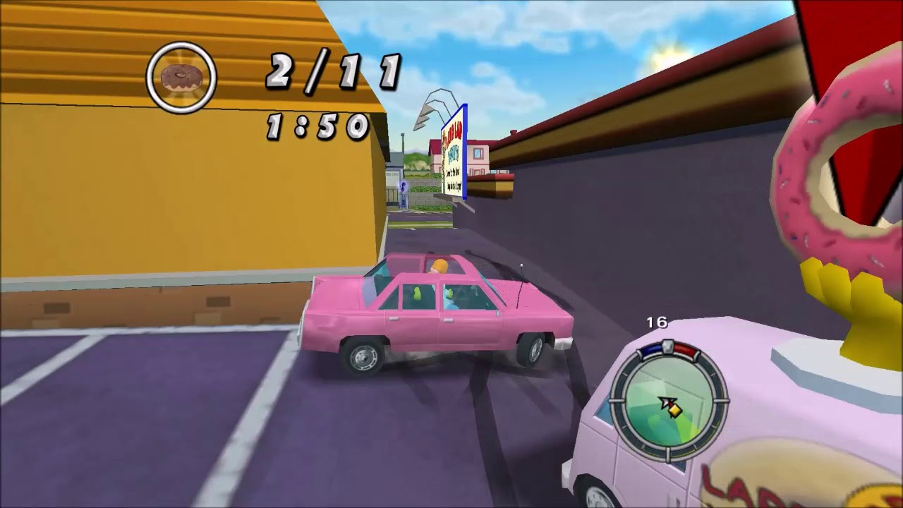 The Simpsons Hit & Run Mod Walkthrough | Road Rage Returns | The