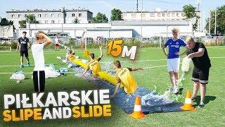 Najlepszy piłkarski Slip And Slide!!! 15 metrów! | PNTCMZ
