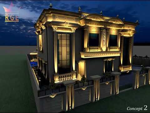 Arab villa lighting Design Classic 2