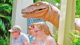 HILARIOUS Raptor Encounter at Islands of Adventure, Universal Studios Florida