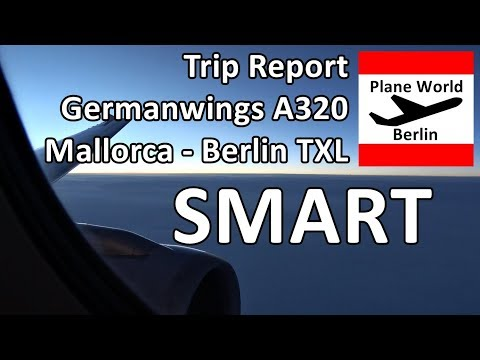 Trip Report | Eurowings Airbus A320 | SMART Economy | Mallorca - Berlin TXL
